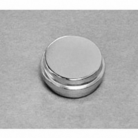 """SDX06-OUT Neodymium Disc Magnet, 1"""" dia. x 3/8"""" thick with step OUT"""