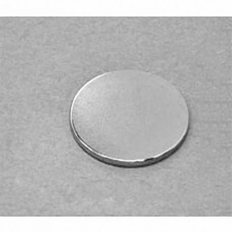 "DX21 Neodymium Disc Magnet, 1 1/8"" dia. x 1/16"" thick"