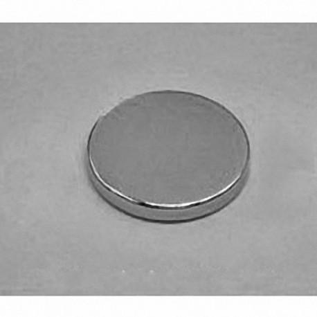 "DX22 Neodymium Disc Magnet, 1 1/8"" dia. x 1/8"" thick"