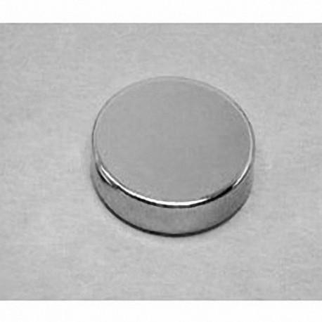 "DX24 Neodymium Disc Magnet, 1 1/8"" dia. x 1/4"" thick"