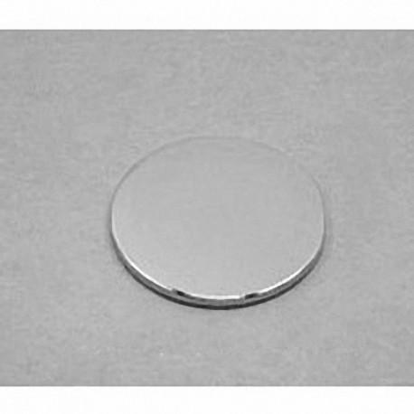 "DX41 Neodymium Disc Magnet, 1 1/4"" dia. x 1/16"" thick"