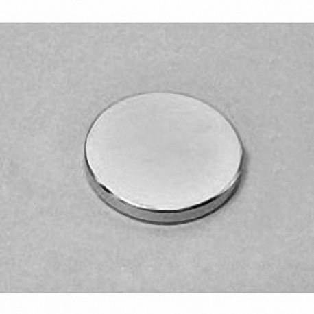 "DX42 Neodymium Disc Magnet, 1 1/4"" dia. x 1/8"" thick"