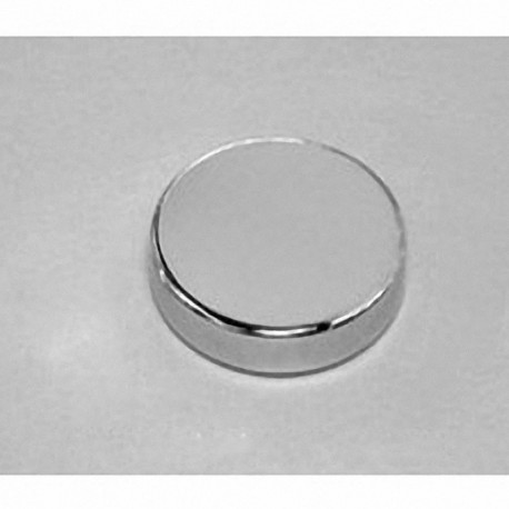 "DX44-N52 Neodymium Disc Magnet, 1 1/4"" dia. x 1/4"" thick"