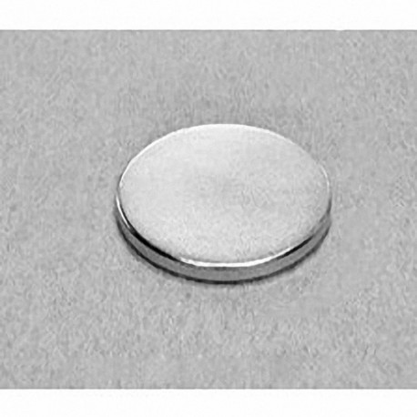 "DX82 Neodymium Disc Magnet, 1 1/2"" dia. x 1/8"" thick"
