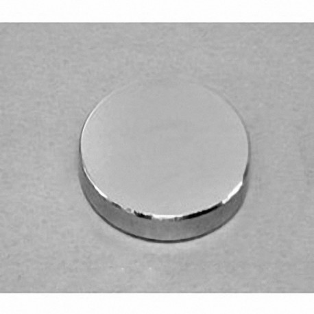 "DX84-N52 Neodymium Disc Magnet, 1 1/2"" dia. x 1/4"" thick"
