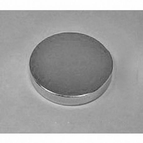 "DY04 Neodymium Disc Magnet, 2"" dia. x 1/4"" thick"
