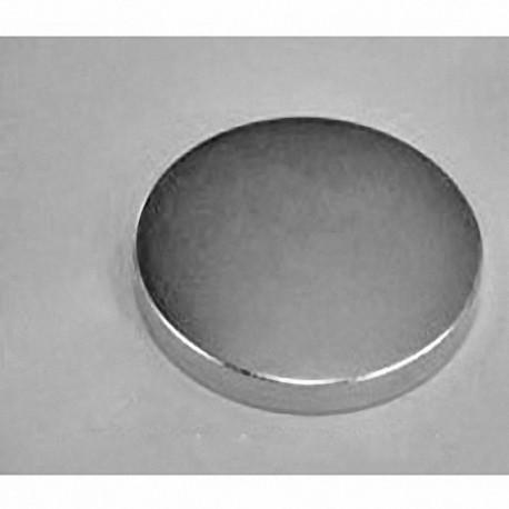 "DY84 Neodymium Disc Magnet, 2 1/2"" dia. x 1/4"" thick"