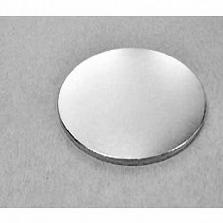 "DZ02 Neodymium Disc Magnet, 3"" dia. x 1/8"" thick"