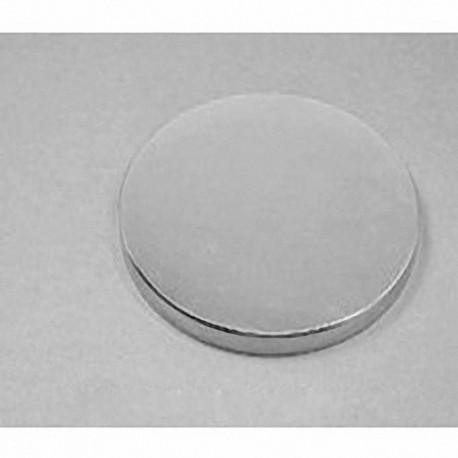 "DZ04 Neodymium Disc Magnet, 3"" dia. x 1/4"" thick"