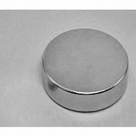 "DZ08-N52 Neodymium Disc Magnet, 3"" dia. x 1/2"" thick"