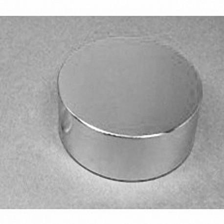 "DZ0X0 Neodymium Disc Magnet, 3"" dia. x 1"" thick"