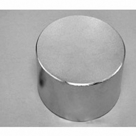 "DZ0X8-N52 Neodymium Disc Magnet, 3"" dia. x 1 1/2"" thick"