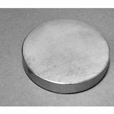"""DZX08-N52 Neodymium Disc Magnet, 4"""" dia. x 1/2"""" thick"""
