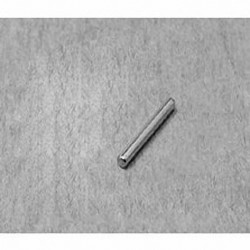 "D18 Neodymium Cylinder Magnet, 1/16"" dia. x 1/2"" thick"