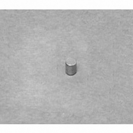 "DH1H1 Neodymium Cylinder Magnet, 1/10"" dia. x 1/10"" thick"