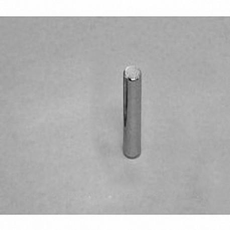 "DH18 Neodymium Cylinder Magnet, 1/10"" dia. x 1/2"" thick"