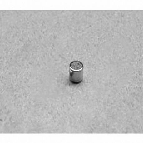 "D22 Neodymium Cylinder Magnet, 1/8"" dia. x 1/8"" thick"