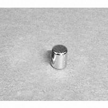 "D33 Neodymium Cylinder Magnet, 3/16"" dia. x 3/16"" thick"