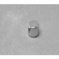 "D44 Neodymium Cylinder Magnet, 1/4"" dia. x 1/4"" thick"