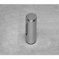 "D4A Neodymium Cylinder Magnet, 1/4"" dia. x 5/8"" thick"