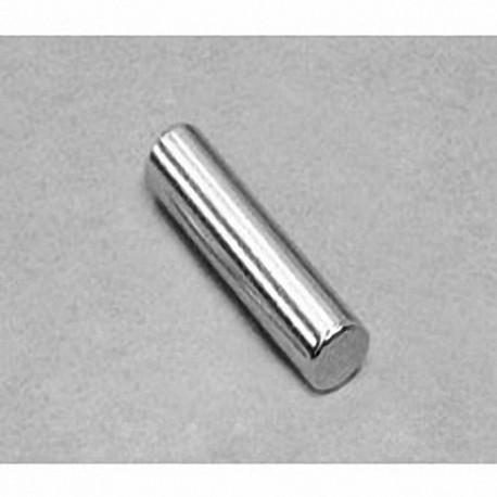 "D4X0DIA Neodymium Cylinder Magnet, 1/4"" dia. x 1"" thick"
