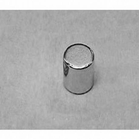 "D55 Neodymium Cylinder Magnet, 5/16"" dia. x 5/16"" thick"