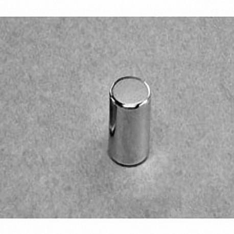 "D58 Neodymium Cylinder Magnet, 5/16"" dia. x 1/2"" thick"