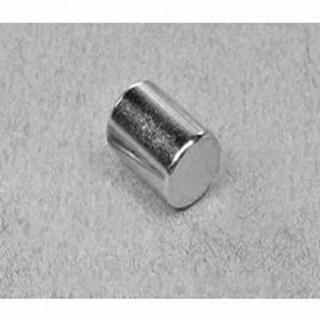 "D68 Neodymium Cylinder Magnet, 3/8"" dia. x 1/2"" thick"