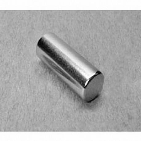 "D6X0 Neodymium Cylinder Magnet, 3/8"" dia. x 1"" thick"