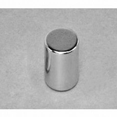 "D8A Neodymium Cylinder Magnet, 1/2"" dia. x 5/8"" thick"