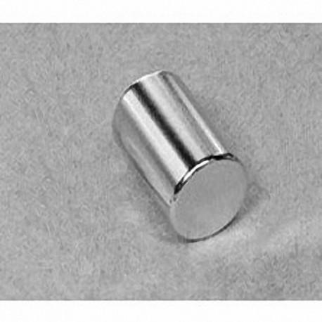 "D8C Neodymium Cylinder Magnet, 1/2"" dia. x 3/4"" thick"