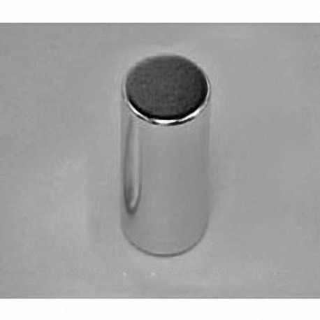 "D8E Neodymium Cylinder Magnet, 1/2"" dia. x 7/8"" thick"