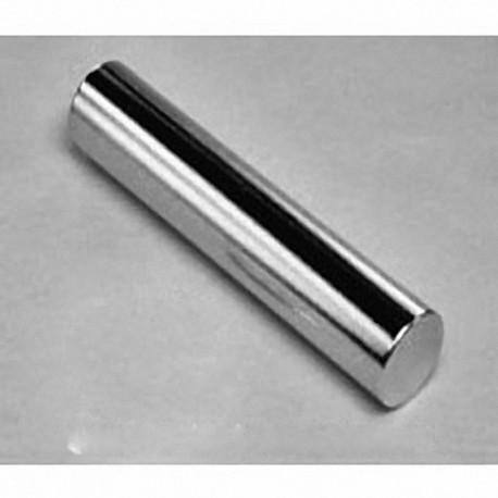 "D8Y8 Neodymium Cylinder Magnet, 1/2"" dia. x 2 1/2"" thick"