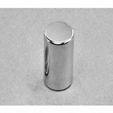 "D9X0 Neodymium Cylinder Magnet, 9/16"" dia. x 1"" thick"
