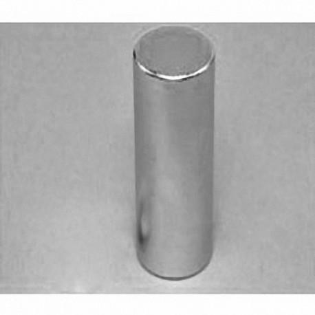 "DCY0 Neodymium Cylinder Magnet, 3/4"" dia. x 2"" thick"