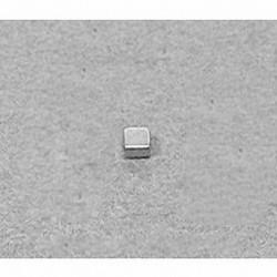 """B221 Neodymium Block Magnet, 1/8"""" x 1/8"""" x 1/16"""" thick"""