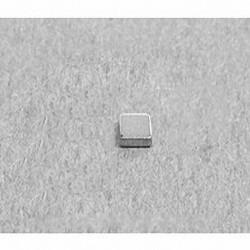 """B331 Neodymium Block Magnet, 3/16"""" x 3/16"""" x 1/16"""" thick"""