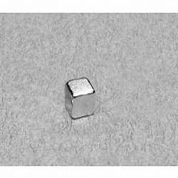 """B333 Neodymium Block Magnet, 3/16"""" x 3/16"""" x 3/16"""" thick"""