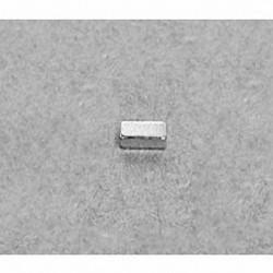 """B421 Neodymium Block Magnet, 1/4"""" x 1/8"""" x 1/16"""" thick"""