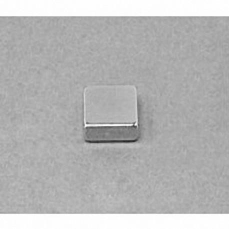 """B662 Neodymium Block Magnet, 3/8"""" x 3/8"""" x 1/8"""" thick"""