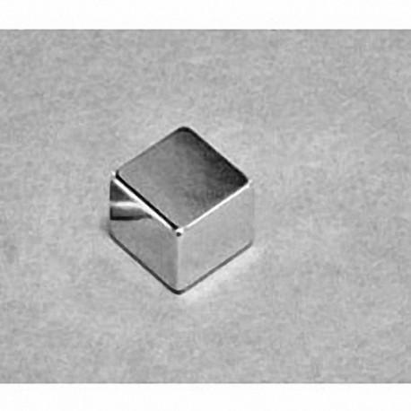 """B664 Neodymium Block Magnet, 3/8"""" x 3/8"""" x 1/4"""" thick"""