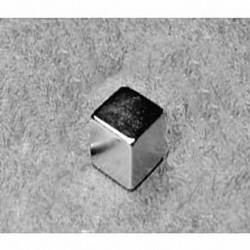 """B666 Neodymium Block Magnet, 3/8"""" x 3/8"""" x 3/8"""" thick"""