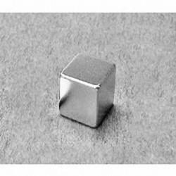 """B777 Neodymium Block Magnet, 7/16"""" x 7/16"""" x 7/16"""" thick"""