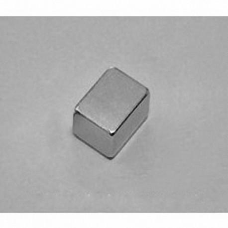 """B864 Neodymium Block Magnet, 1/2"""" x 3/8"""" x 1/4"""" thick"""