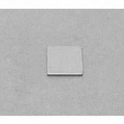 """B8801 Neodymium Block Magnet, 1/2"""" x 1/2"""" x 1/32"""" thick"""