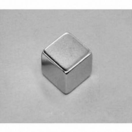 """B886 Neodymium Block Magnet, 1/2"""" x 1/2"""" x 3/8"""" thick"""