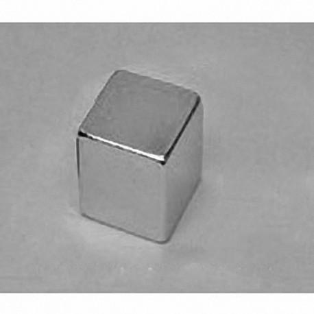 """B999 Neodymium Block Magnet, 9/16"""" x 9/16"""" x 9/16"""" thick"""