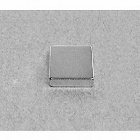 """BAA2 Neodymium Block Magnet, 5/8"""" x 5/8"""" x 1/8"""" thick"""