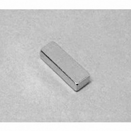 """BC42 Neodymium Block Magnet, 3/4"""" x 1/4"""" x 1/8"""" thick"""