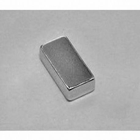 """BC63 Neodymium Block Magnet, 3/4"""" x 3/8"""" x 3/16"""" thick"""